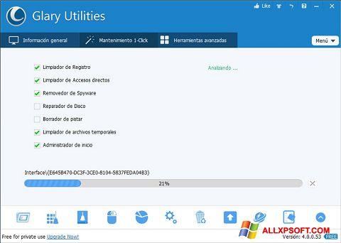 Ekran görüntüsü Glary Utilities Windows XP