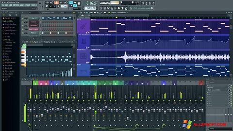 Ekran görüntüsü FL Studio Windows XP