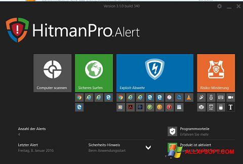 Ekran görüntüsü HitmanPro Windows XP