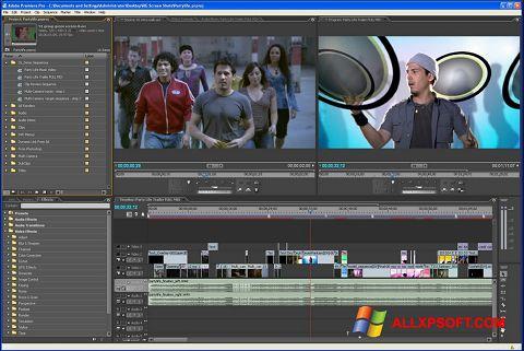 Ekran görüntüsü Adobe Premiere Pro Windows XP