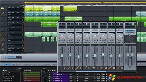 Ekran görüntüsü MAGIX Music Maker Windows XP