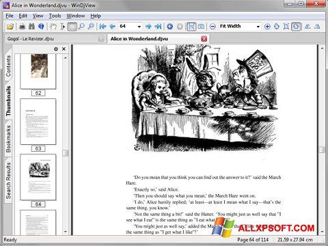 Ekran görüntüsü DjView Windows XP