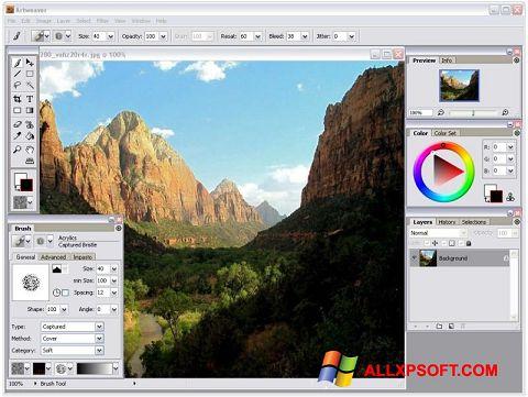 Ekran görüntüsü Artweaver Windows XP