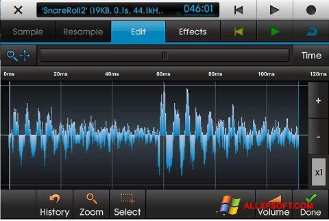 Ekran görüntüsü NanoStudio Windows XP