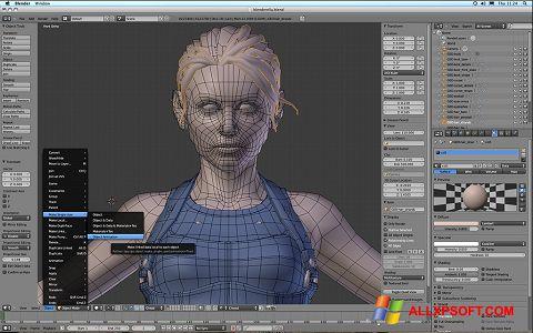 Ekran görüntüsü Blender Windows XP