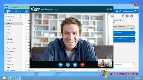 Ekran görüntüsü Skype Windows XP