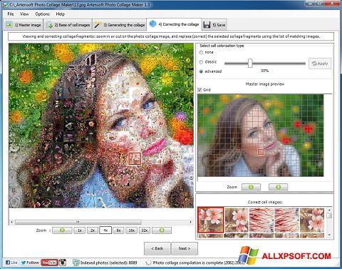 Ekran görüntüsü Photo Collage Windows XP